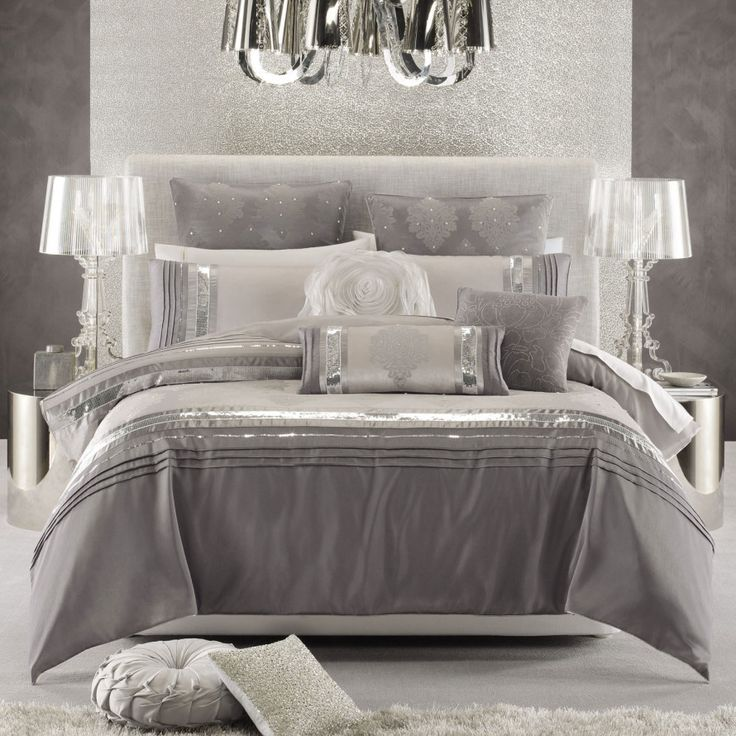 The Glittery World Of Silver Bedroom Ideas: Silver Bedroom, Silver Bedroom