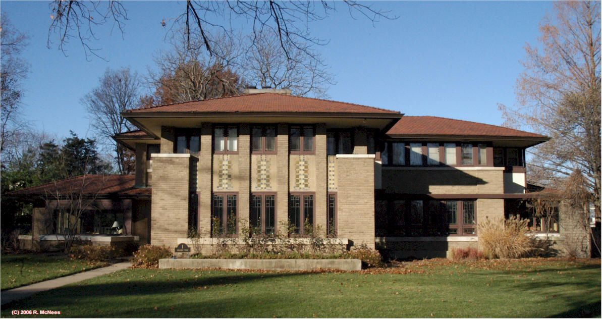 robert mueller house decatur illinois 1910 marion mahony and rh pinterest com