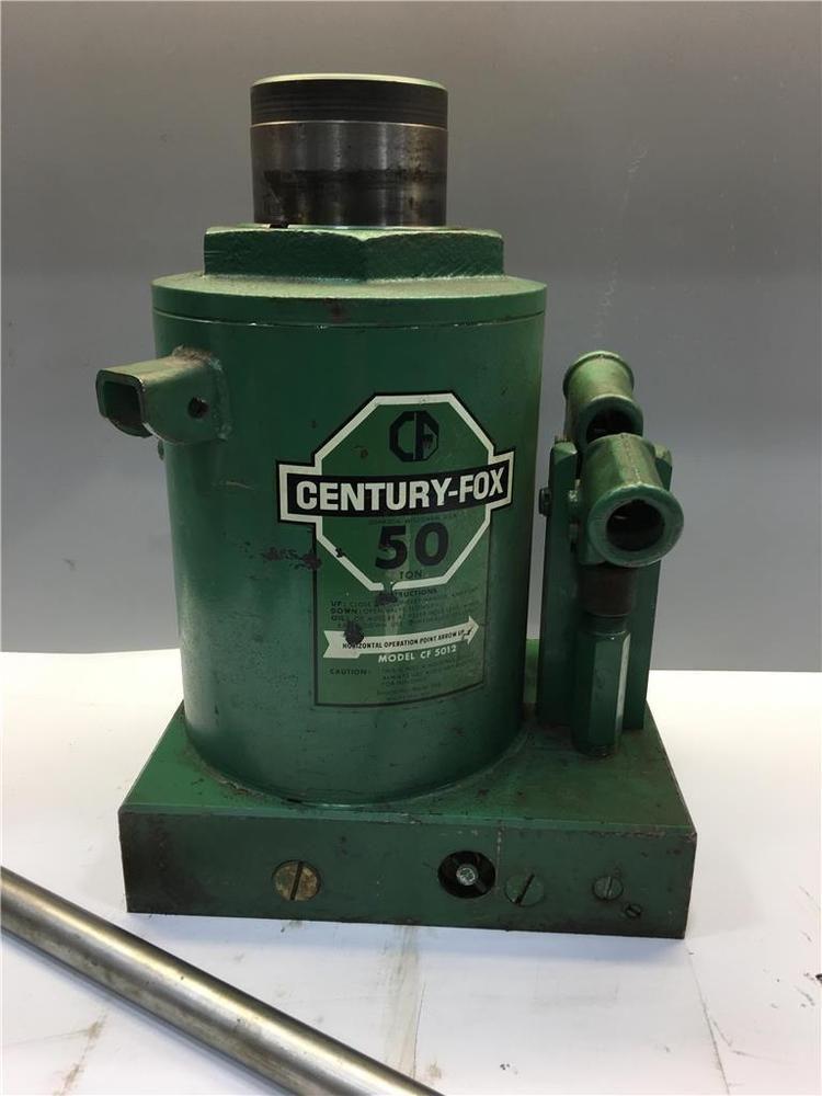 Heavy Duty Hein Werner Century Fox 50 Ton Hydraulic Rail