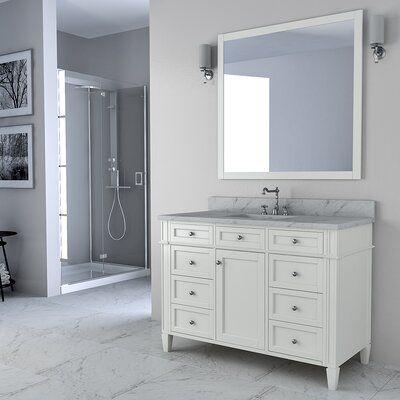 charlton home bemidji 48 single bathroom vanity set base finish rh pinterest com