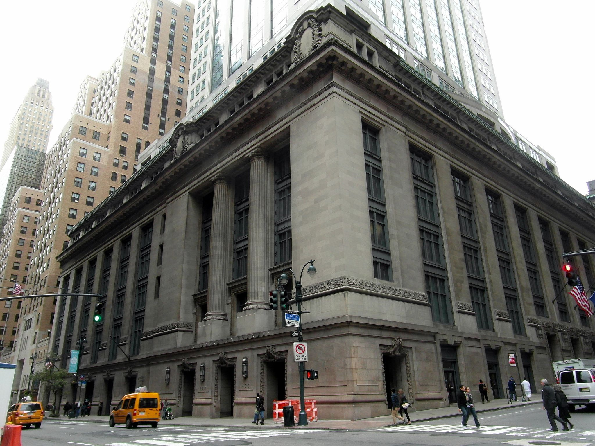 Grand Central Post Office Lexington Avenue Post Office Street View