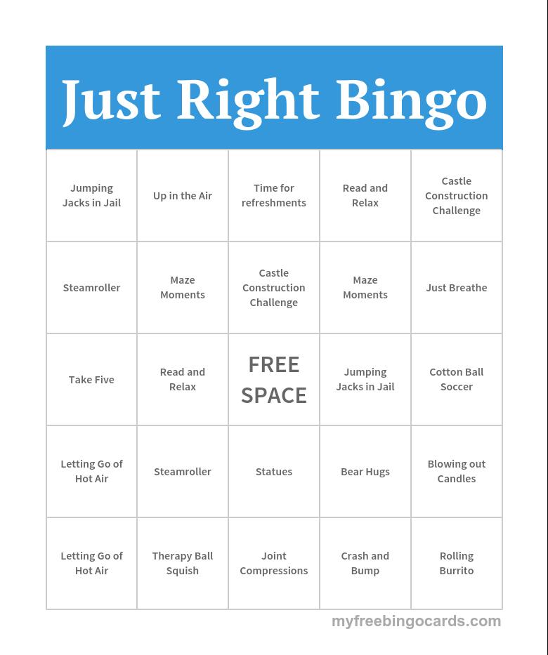 Bingo Card Generator, Free Printable