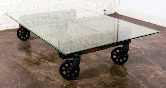 furniture in knoxville urban industrial d cor coffee table rh pinterest fr