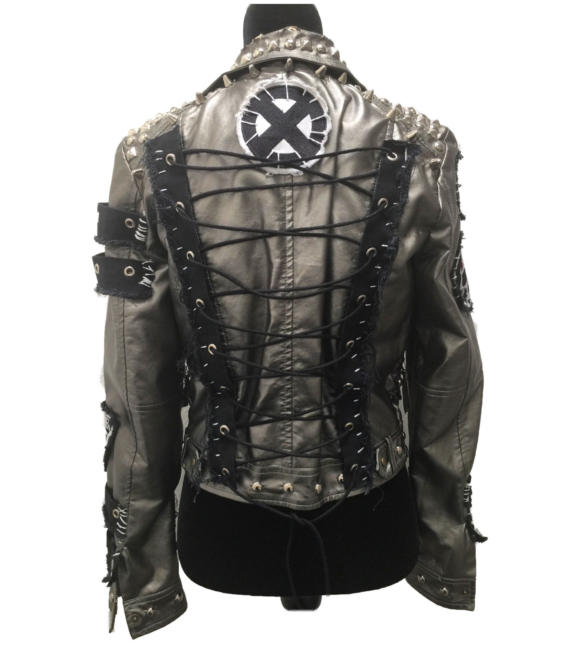 Men/'s Leather Jacket Empirical Selection Leather Jackets Men