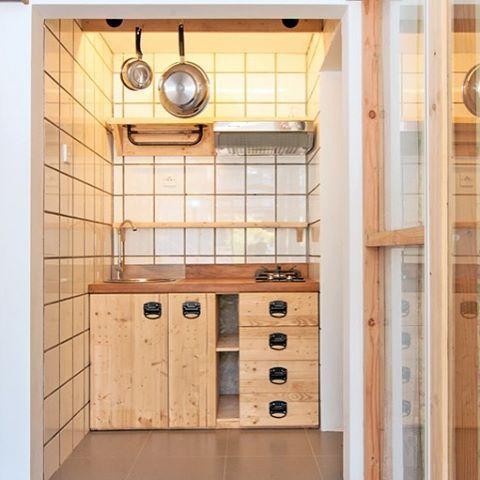 Masih Belum Bosan Kan Ngomongin Dapur Ini Satu Lagi Contoh Yang Mini Ukurannya