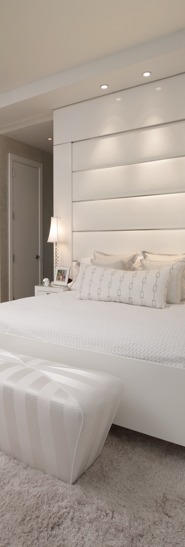 Cabecero acolchado blanco cabecero headboard acolchado - Cabeceros acolchados cama ...