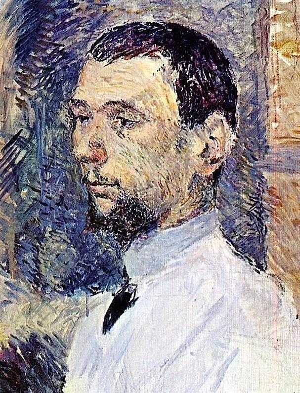 Henri De Toulouse Lautrec The Artist Francois Gauzi Henri De
