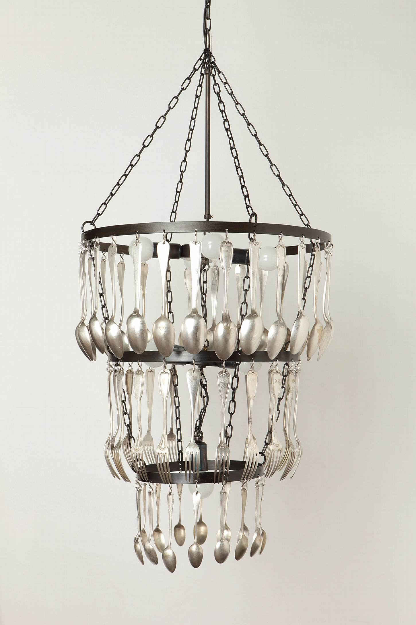 Eat Drink And Be Merry Chandelier Saw