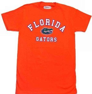 NCAA Florida Gators Orange Classic Locker Men's T-Shirt by E5. $16.99. Made By E5. Screen Printed Graphics. 100% Cotton. Show your love for the Florida Gators with this stylish and comfy Classic Lock tee by E5.