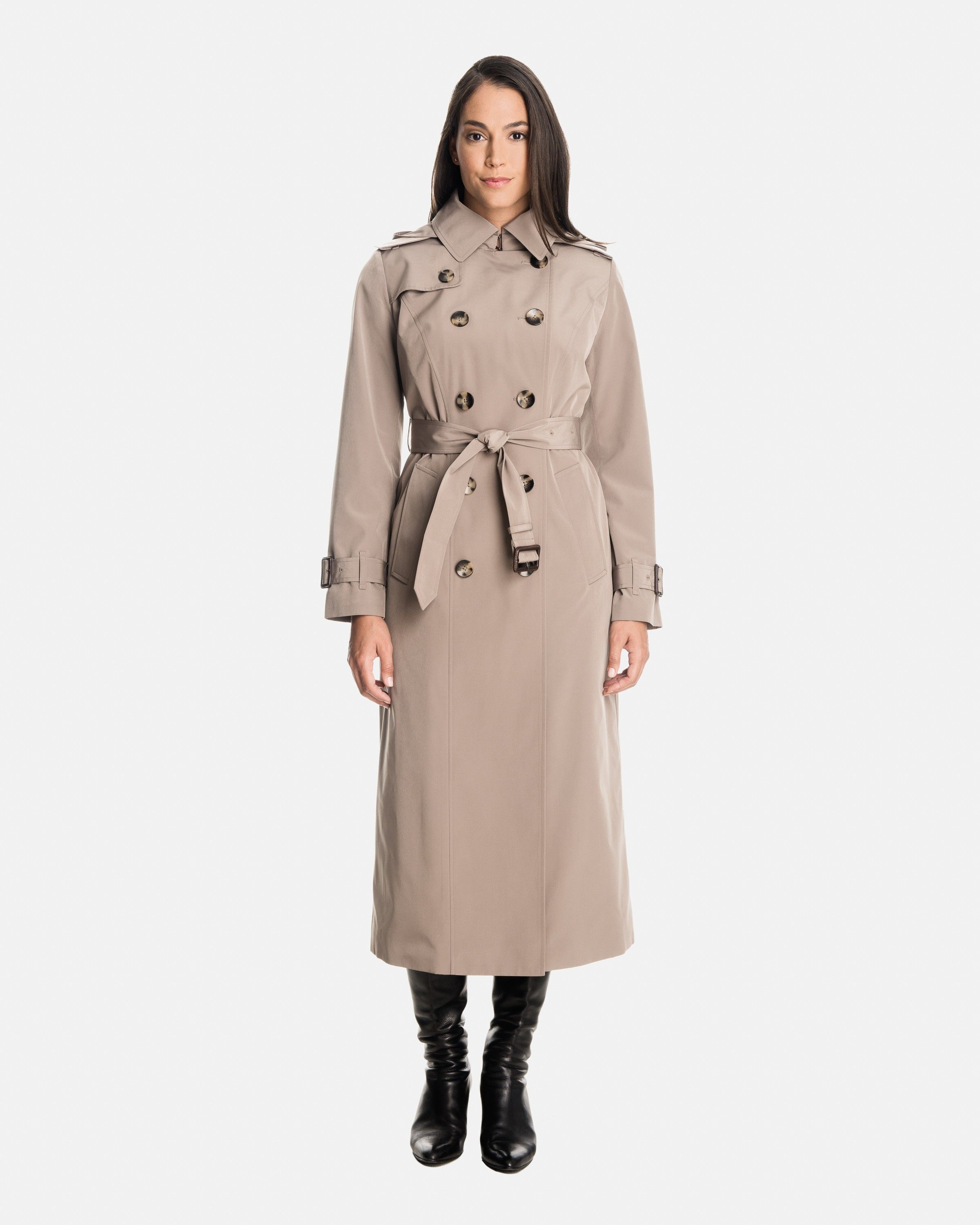 a22ee7c8584 Rachel Women s Long Trench Coat
