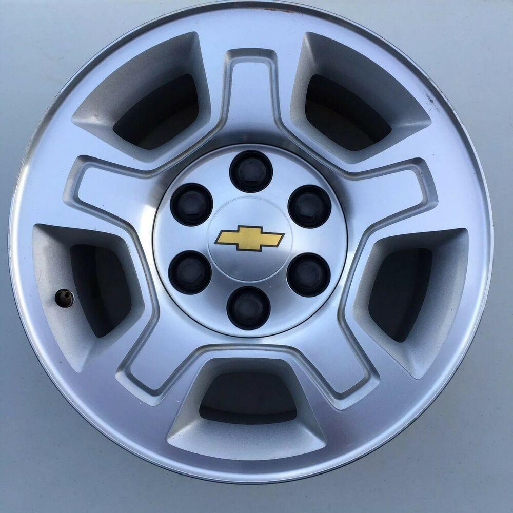 2016 2019 2017 New Reconditioned 18 OEM Wheel for Chevrolet Tahoe Silverado 2014 Auto Rim Shop 2015 2018