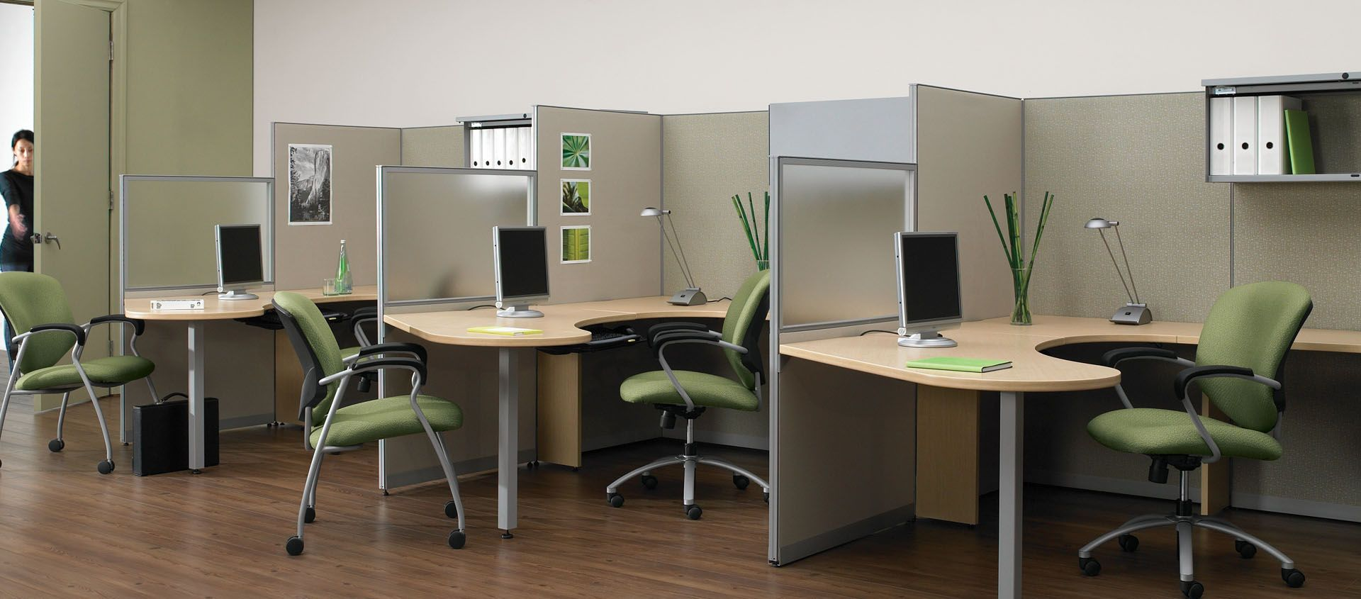 slide 1 systems furniture in 2019 office cubicle used office rh pinterest com