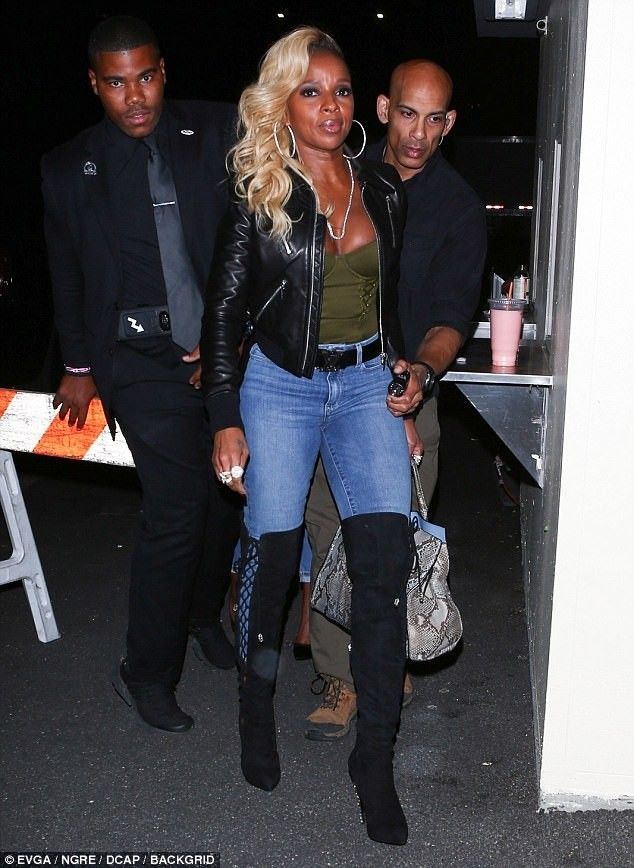 gorące nowe produkty lepszy wielka wyprzedaż uk Mary J Blige in Jeans and Knee High Boots in 2019   Jeans ...