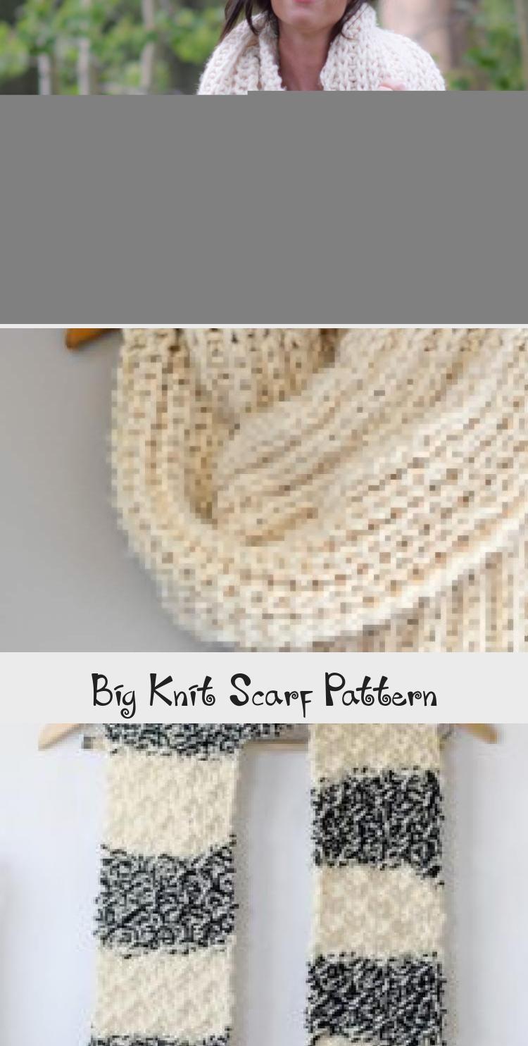 Photo of Neueste Screen großen Strickschal Konzepte Big Knit Scarf Pattern – Kni …