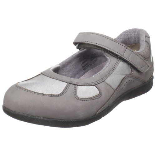 Drew Shoes Women's Delite Mary Jane,Grey Nubuck/Grey Stretch,5 ...