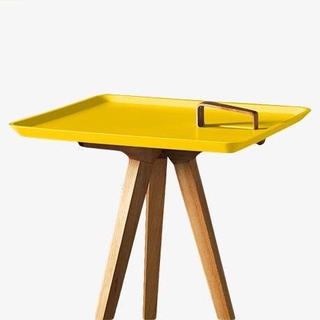 Servolino table yellow by spring sale monoqi wire side table wire side table servolino table yellow by spring sale monoqi greentooth Images