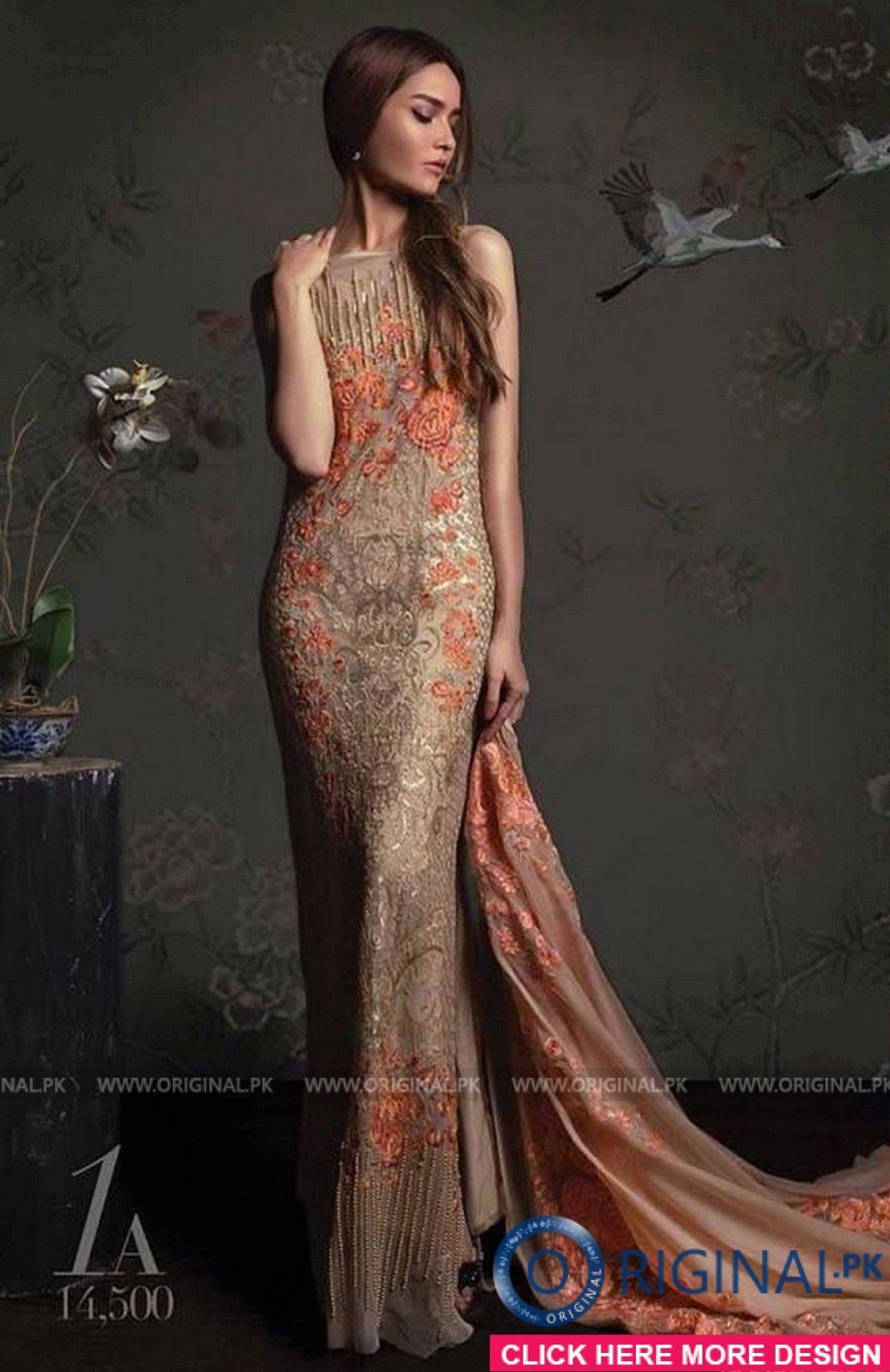 Sana Safinaz EID17-1A Luxury Collection 2017 - Original Online ...