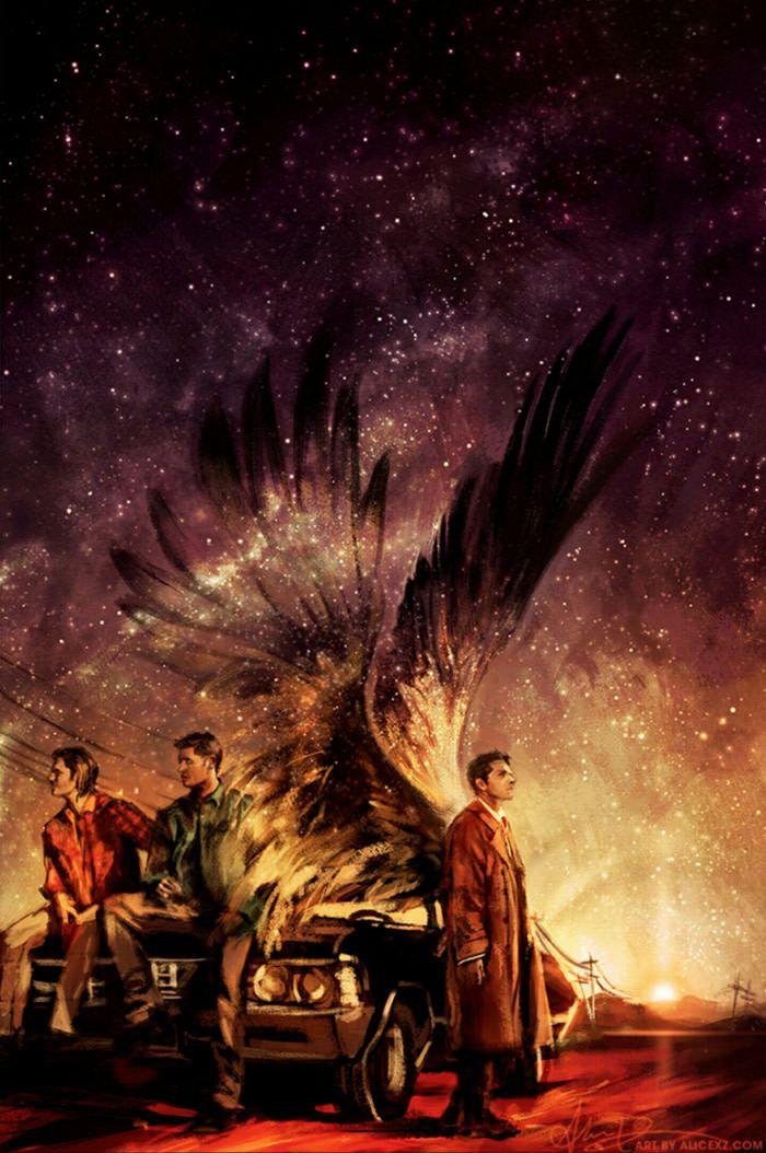 My current wallpaper, Supernatural is love. Supernatural