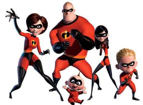 Pixar film, The Incredibles