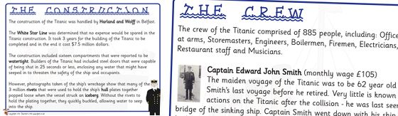The Titanic Information Posters http://displays.tpet.co.uk/#/viewPost/id854