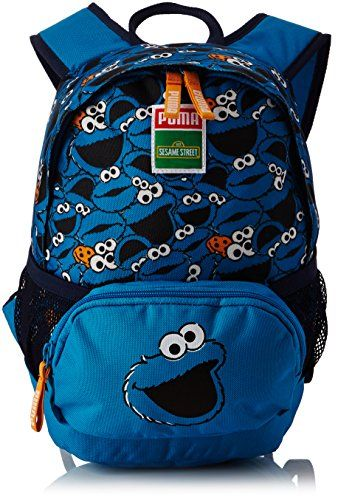f2669586ac82 PUMA SESAME STREET KIDS BACKPACK SMALL (Blue Jewel and Cookie Monster) For  Sale https