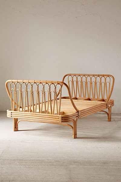 Canoga Rattan Bed In 2019 Bamboo Furniture Rattan Bed