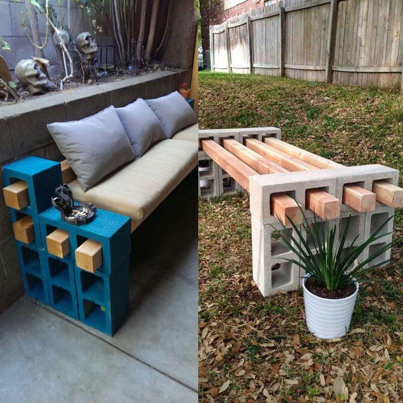 r sultat de recherche d 39 images pour banc parpaing poutre balcony pinterest parpaing. Black Bedroom Furniture Sets. Home Design Ideas