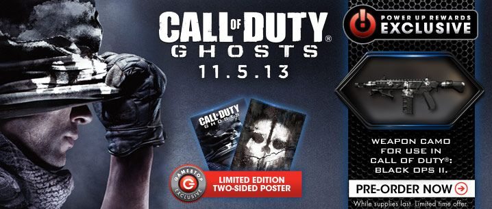 Preorder Or Buy Call Of Duty Ghosts Video Game Covers Video Games Call Of Duty Ghosts