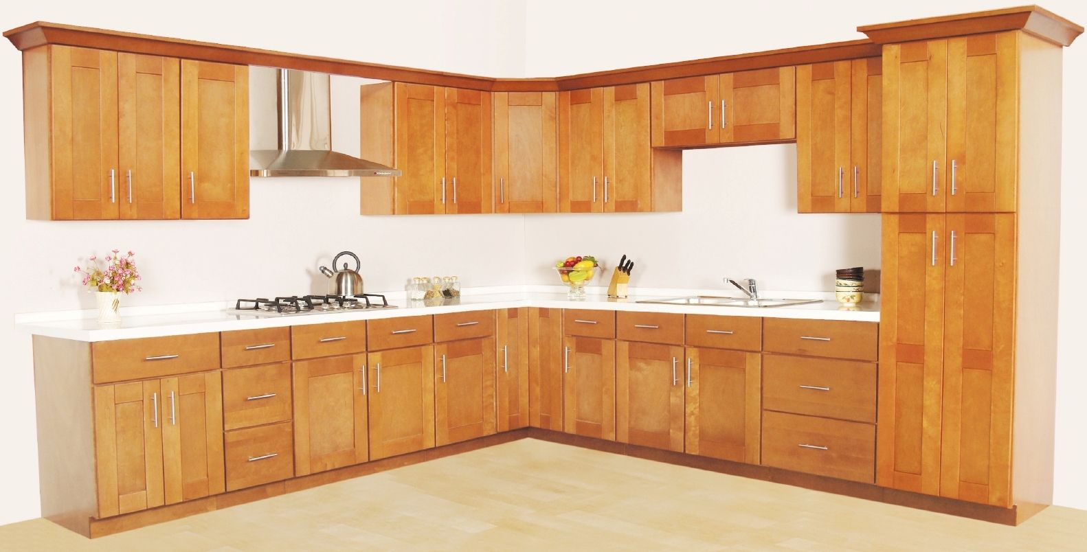 curved wire pull shaker cabinet Google