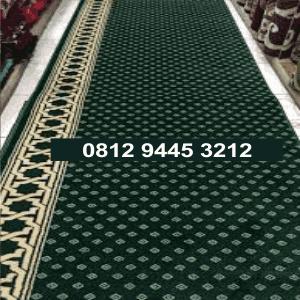 jual karpet masjid murah polos meteran di jakarta bekasi bandung