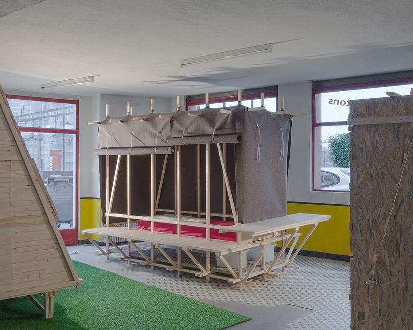 sheep to sleep provides low cost temporary micro housing small rh pinterest com