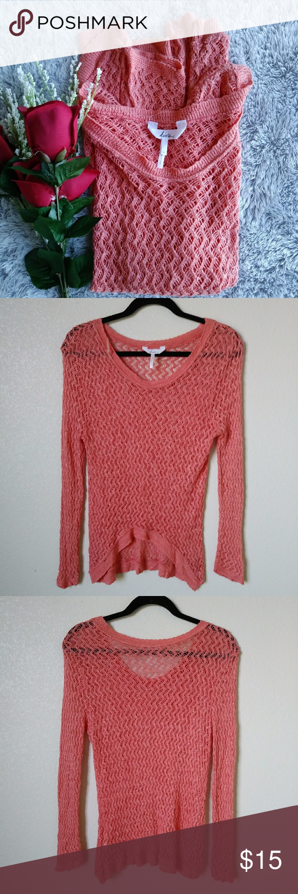 Kirra Coral Light Knit Sweater M | Coral, Conditioning and ...