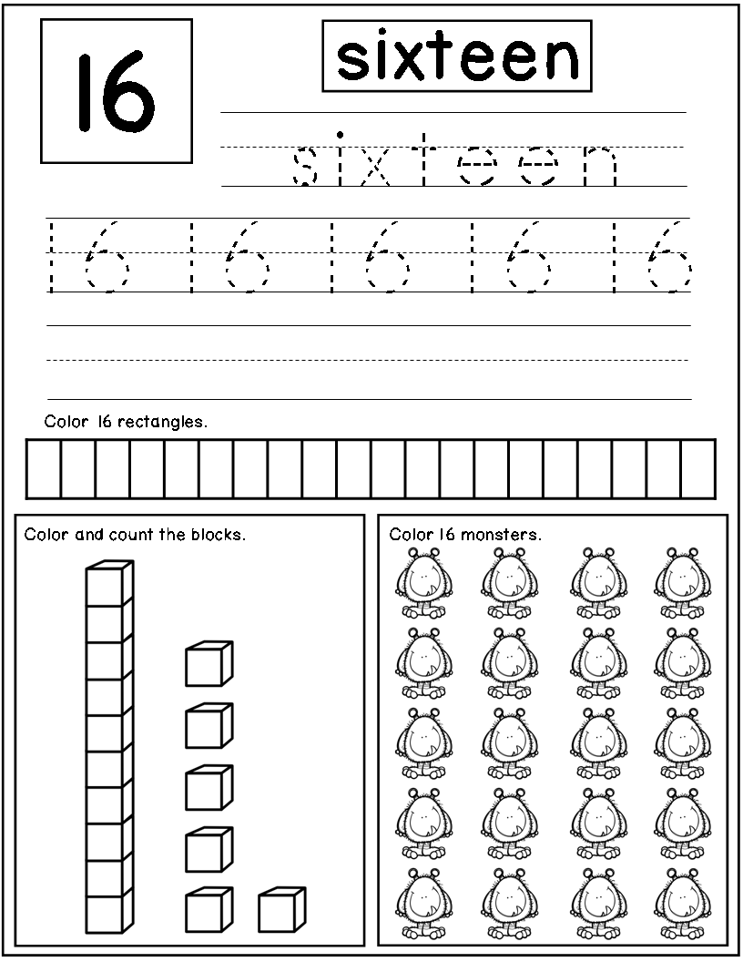 Teen Numbers Kindergarten Books | Teen numbers, Student learning and ...