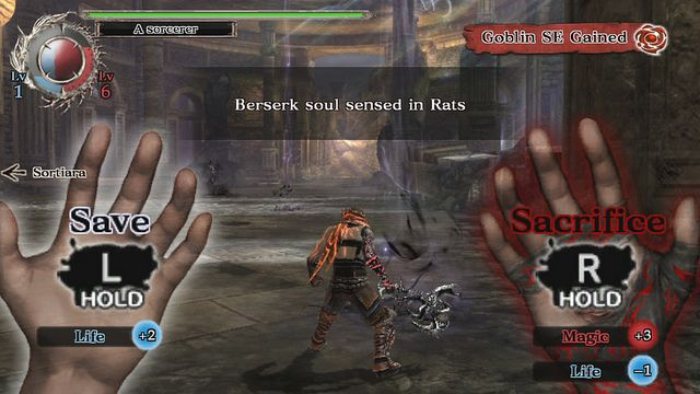 Soul Sacrifice Tough Choices Colossal Bosses Keiji Inafune