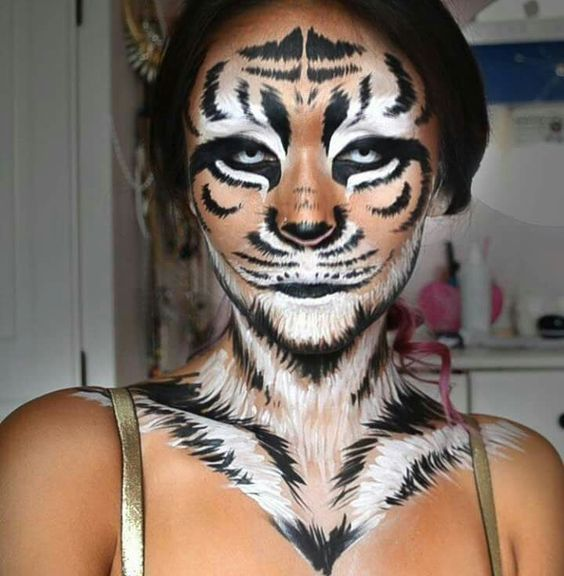 Diy Tiger Costume Tiger Halloween Costume Tiger Costume And