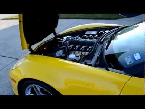 1000hp Katech Air Attack Corvette Z06 idle video - YouTube