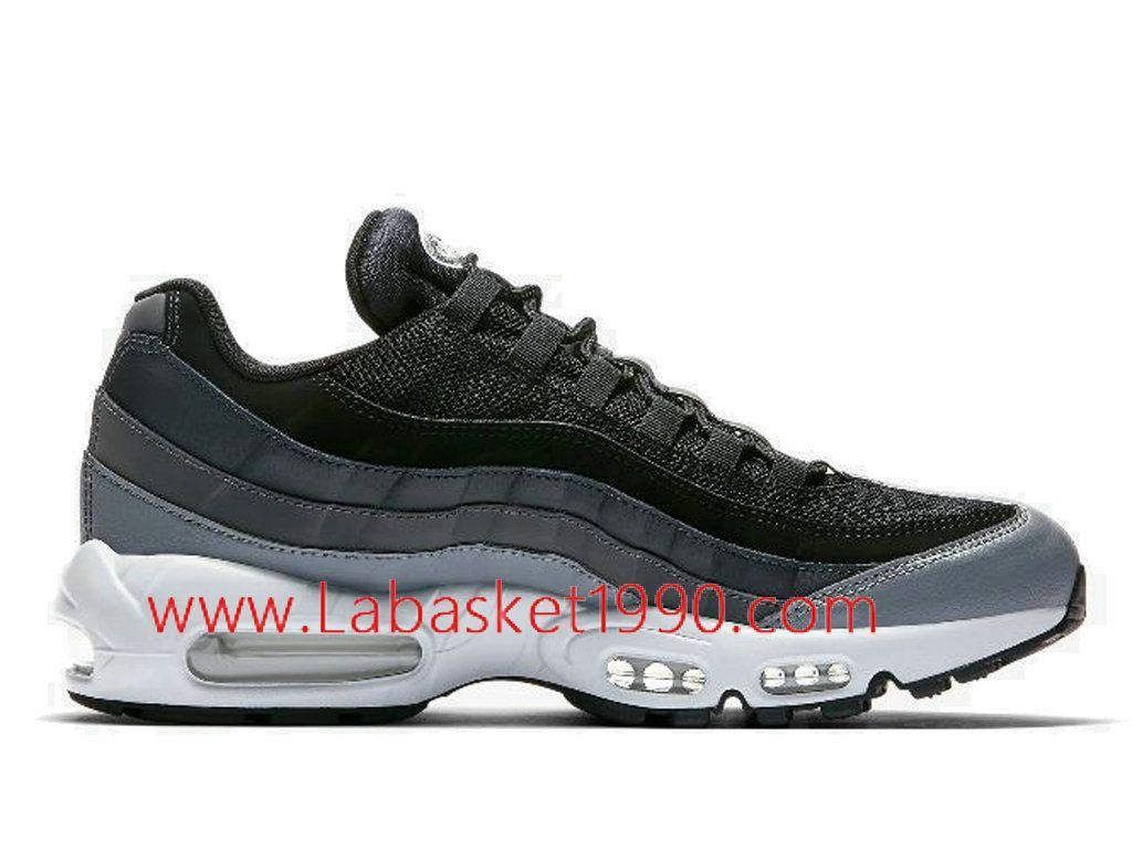 Nike Air Max 95 Essential 749766-021 Chaussures Nike 2018 Pas Cher Pour  Homme Noir Gris-Achetez en ligne les articles signés Nike.