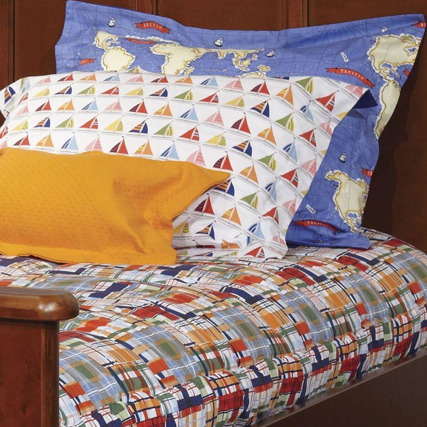 Cooper Journey Plaid Bunk Bed Hugger Comforter Bedding For Bunks