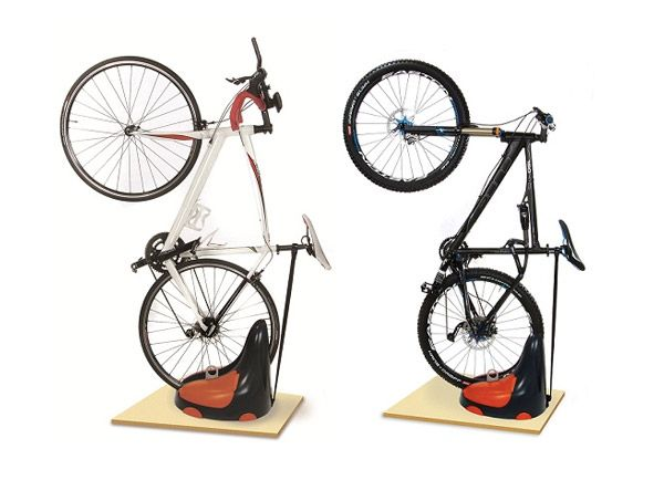 Bike Organizer By Zictech Free Standing Bicycle Rack With Storage