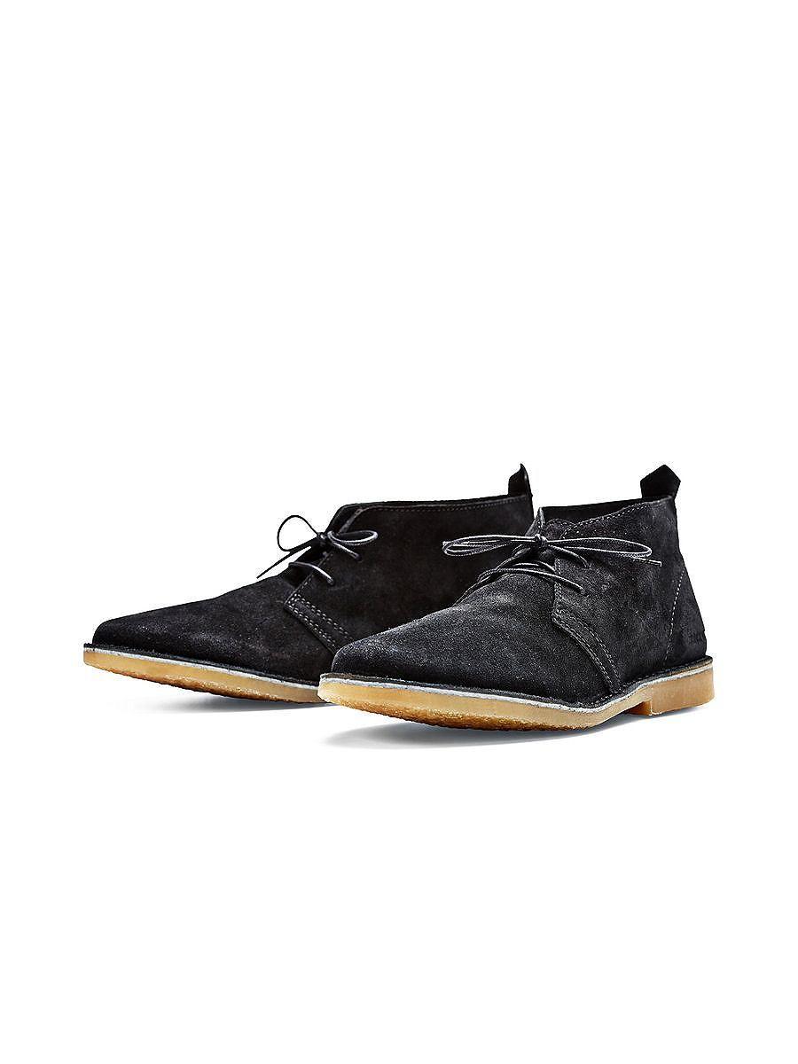 ee96cd95a52cea JACK   JONES FOOTWEAR - Wildleder-Desert-Boots von FOOTWEAR - Dünne