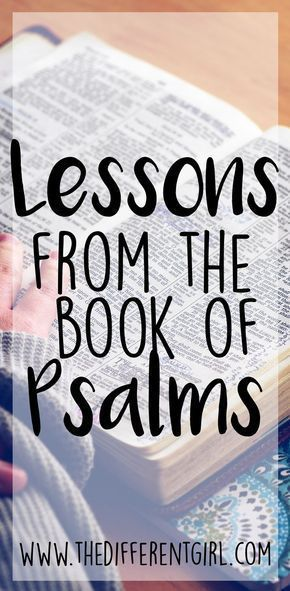 Why you should read the book of Psalms