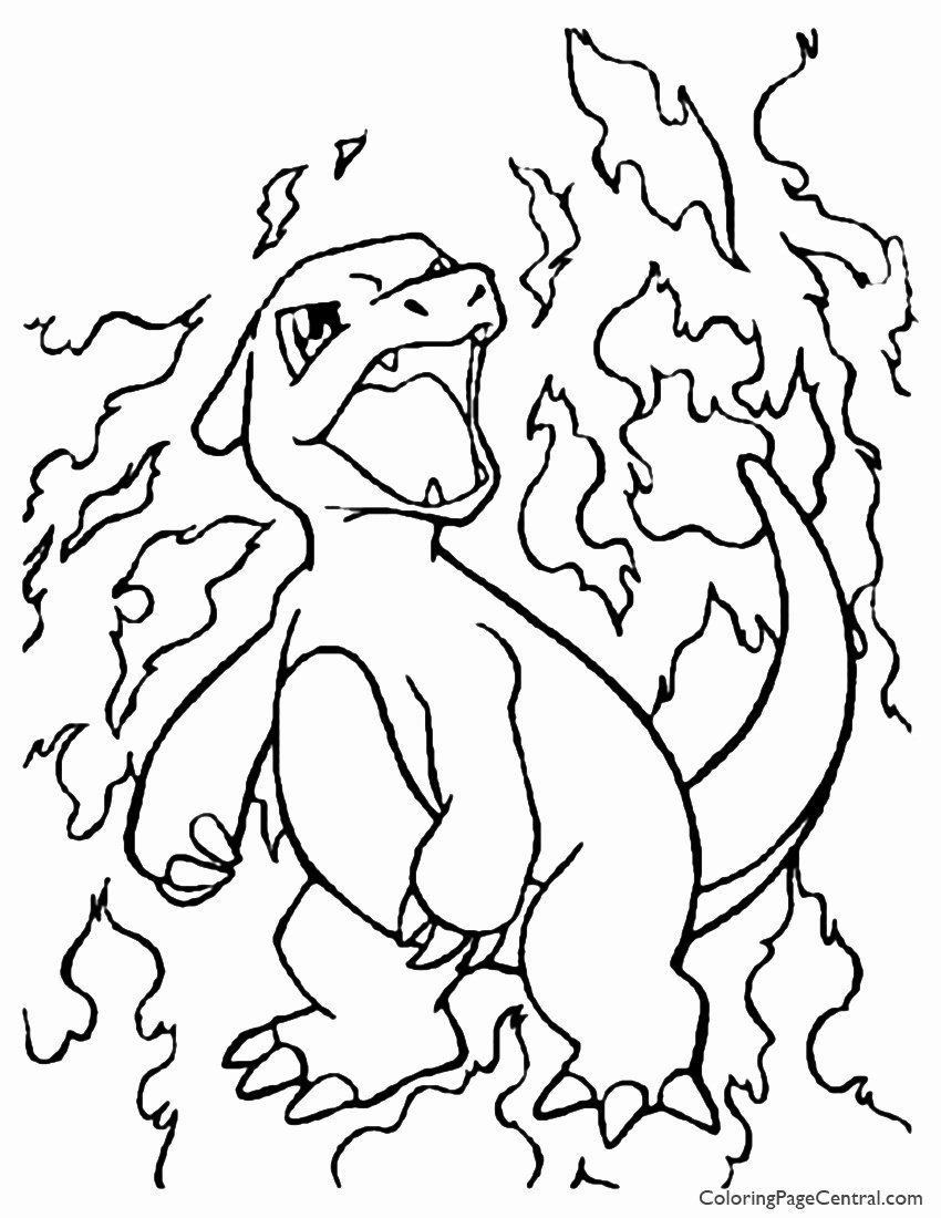 Pokemon Pictures Coloring Pages Luxury Pokemon Coloring Pages Charmeleon In 2020 Pokemon Coloring Sheets Pokemon Coloring Pages Pokemon Coloring