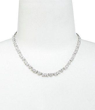 Nadri Marina Cubic Zirconia Necklace bride wedding jewelry