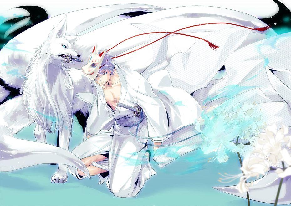 anime white fox Google Search Anime Feudal Era