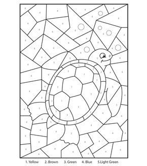 Cute Elephant Colour By Number Summer Coloring Sheets Easter Coloring Pages Printable Coloring Books
