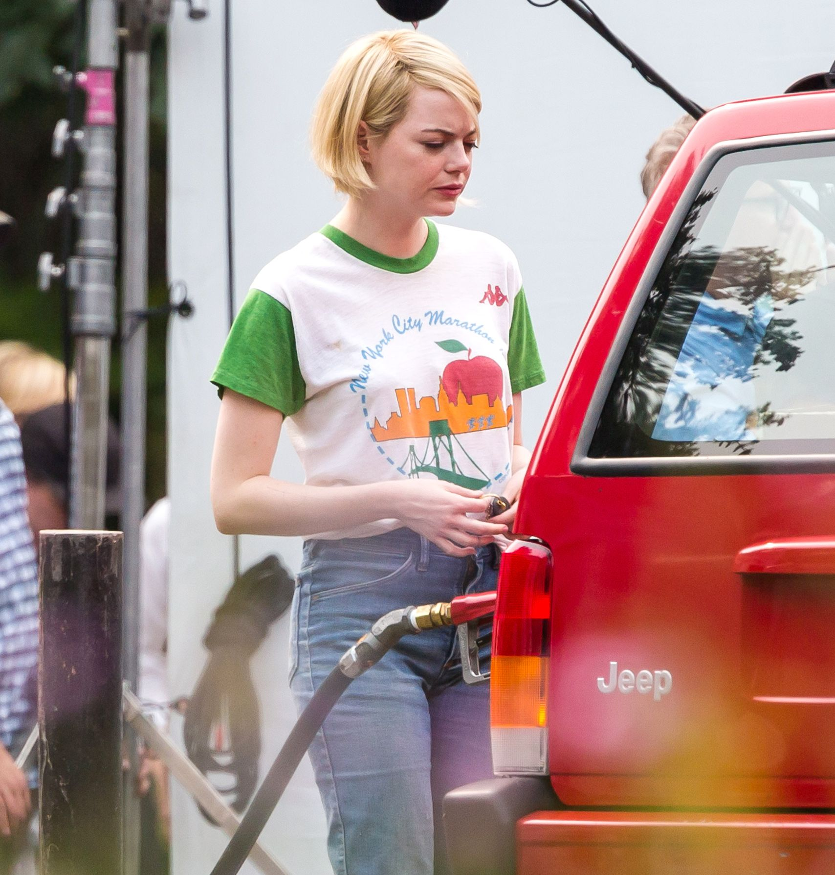 Emma Stone Just Debuted Her Shortest Haircut Ever Emma Stone