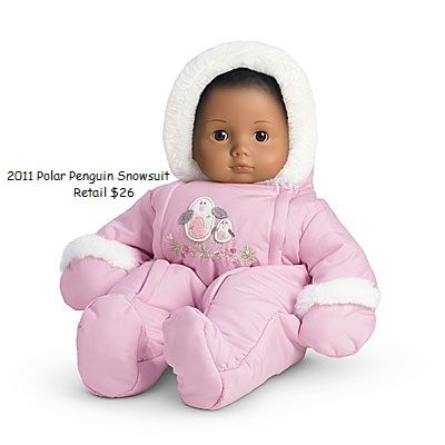 American Girl Doll Bitty Baby Snow Suit New