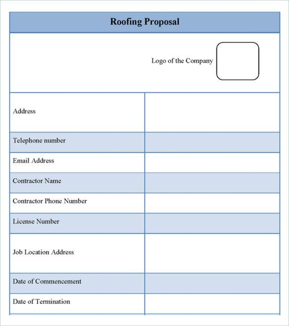 12 Roofing Estimate Templates Pdf Docs Word Roofing