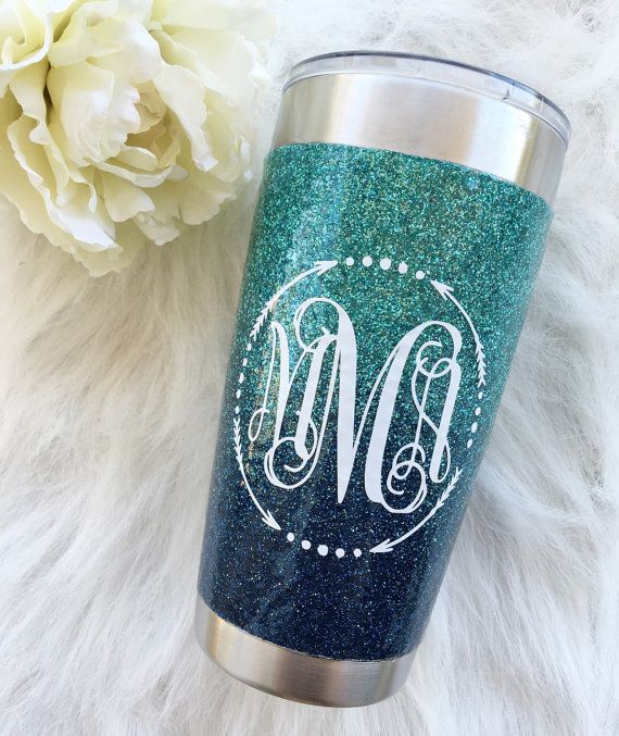 Glitter Yeti / Send Me Your Yeti / ombre yeti by TheSouthernGypsyy