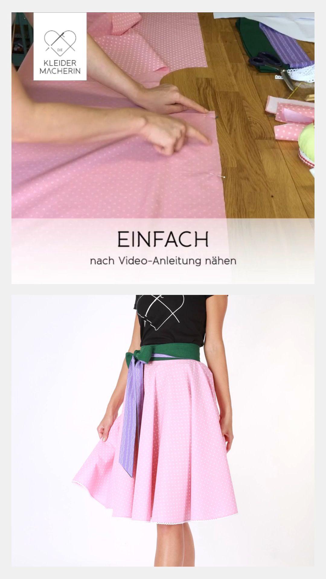 Tellerrock nähen #fashiondresses